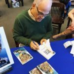 R. Fulleman signing books at Barnes and Noble